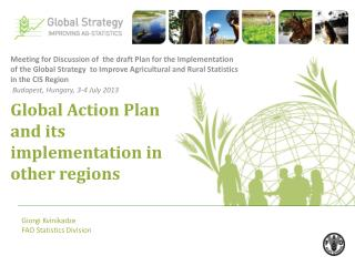 Global Action Plan and its implementation in other regions