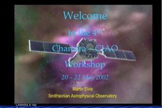 Martin Elvis Smithsonian Astrophysical Observatory