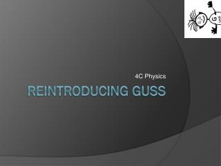 Reintroducing GUSS