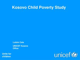 Kosovo Child Poverty Study