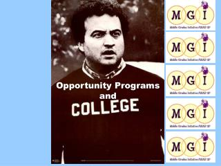 Opportunity Programs  and