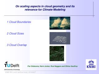 On scaling aspects in cloud geometry and its relevance for Climate Modeling