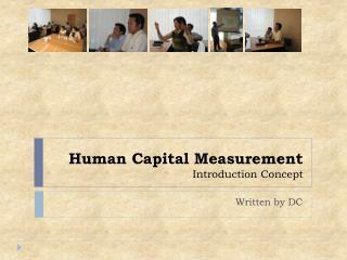 Human Capital Measurement Introduction Concept