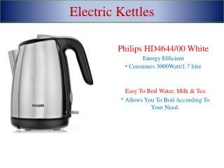 Small Electric Kettles-Easy To Prepare Hot Tea & Coffee With