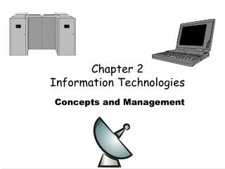 Chapter 2 Information Technologies