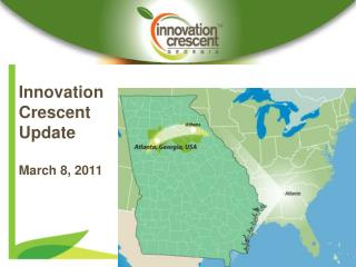 Innovation Crescent Update March 8, 2011