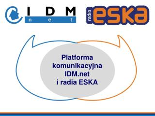 Platforma komunikacyjna IDM  i radia ESKA