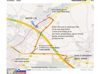 Izvoz iz avtoceste:  Kranj- vzhod