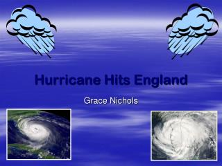 Hurricane Hits England