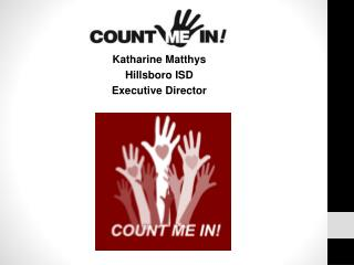 Katharine Matthys Hillsboro ISD  Executive Director
