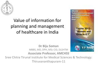 Value of information for planning and management of healthcare in India