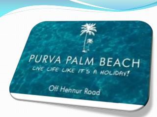 2/3 bhk apartments in purva palm beach