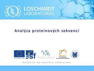 Analýza proteinových sekvencí
