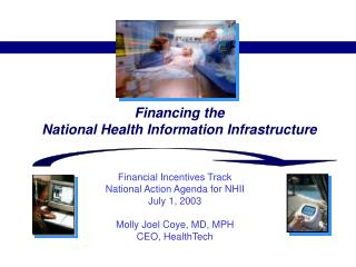 Financing the  National Health Information Infrastructure