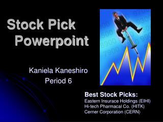 Stock Pick    Powerpoint