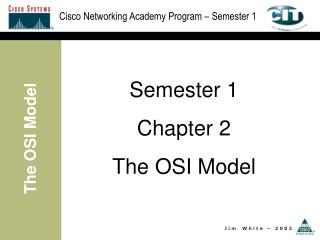 Semester 1 Chapter 2 The OSI Model