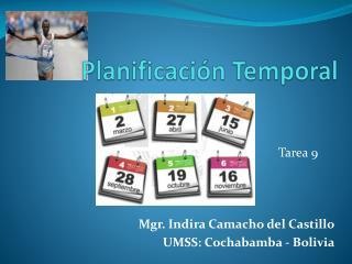 Planificación Temporal