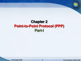Chapter  2 Point-to-Point Protocol (PPP) Part-I