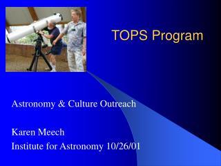 TOPS Program