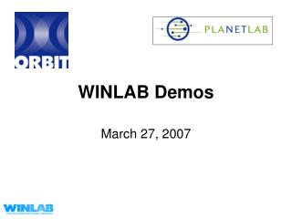 WINLAB Demos