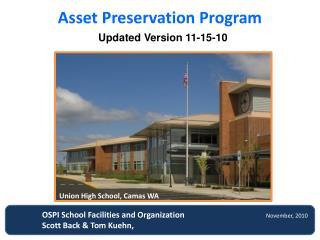 Asset Preservation Program