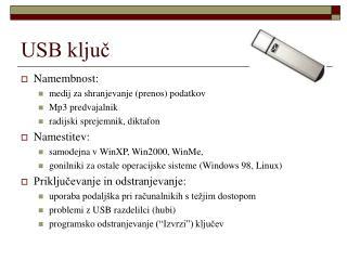 USB ključ