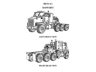 HETS 4-1 M1070 HET