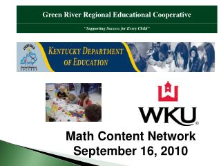 Math Content Network September 16, 2010