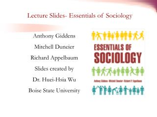 Lecture Slides- Essentials of Sociology