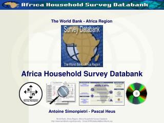 The World Bank - Africa Region