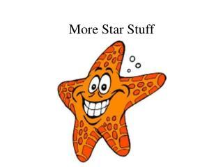More Star Stuff