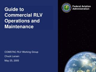 Guide to Commercial RLV Operations and Maintenance