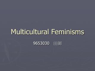 Multicultural Feminisms