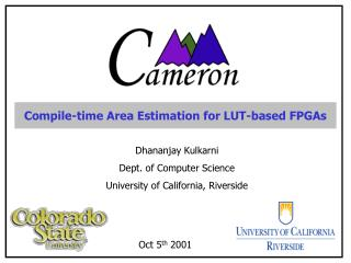 Compile-time Area Estimation for LUT-based FPGAs