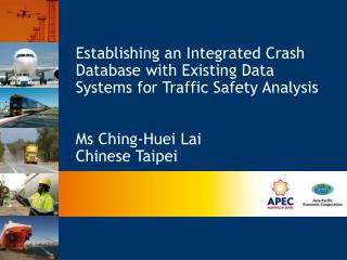 Establishing an Integrated Crash Database with Existing Data Systems for Traffic Safety Analysis