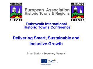 Dubrovnik International  Historic Towns Conference