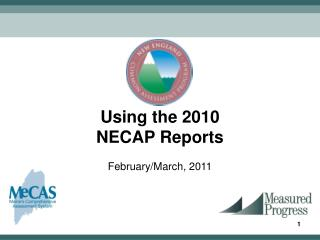 Using the 2010  NECAP Reports February/March, 2011