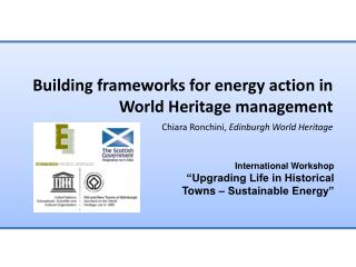 Building frameworks for energy action in World Heritage management