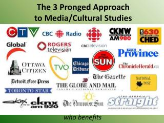 The 3 Pronged Approach to Media/Cultural Studies