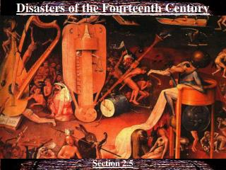 Disasters of the Fourteenth Century
