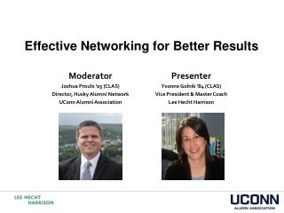 Effective Networking for Better Results