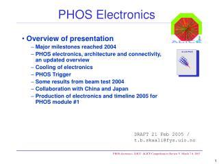 PHOS Electronics