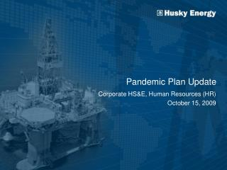 Pandemic Plan Update