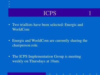 ICPS                     1