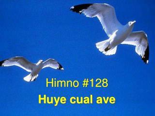 Himno #128 Huye cual ave