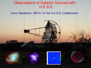 Observations of Galactic Sources with H.E.S.S.