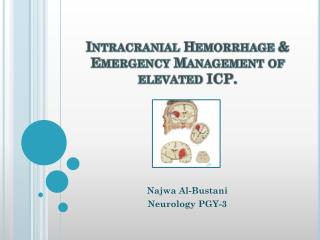 Intracranial Hemorrhage & Emergency Management of elevated ICP.