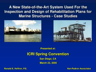 Presented at: ICRI Spring Convention San Diego, CA  March 23, 2000