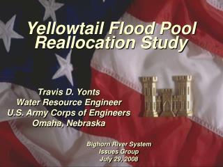 Yellowtail Flood Pool Reallocation Study