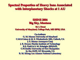 CME-driven Interplanetary Shocks